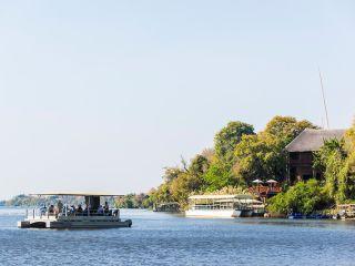 Chobe River im Chobe Marina Lodge