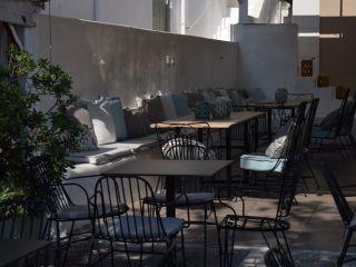 Skiathos-Stadt im Meltemi Island Hotel