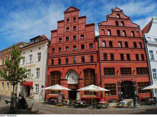 Stralsund im Romantik Hotel Scheelehof