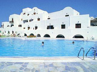 Urlaub Firostefani im Santorini Palace