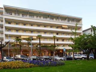 Muralto im Hotel La Palma au Lac