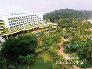 Singapur im Shangri-La's Rasa Sentosa Resort