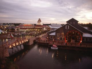 Lake Buena Vista im Disney's Port Orleans Resort - Riverside