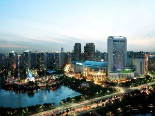 Seoul im Lotte Hotel World