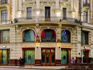 Moskau im Hotel Savoy