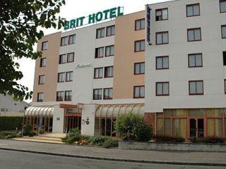 Urlaub Nantes im Brit Hotel La Beaujoire Nantes - L'Amandine