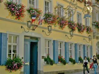 Rothenburg o.d. Tauber im Hotel Goldener Hirsch