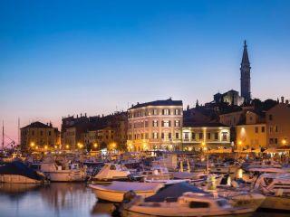 Rovinj im Hotel Adriatic