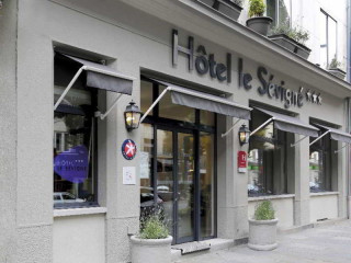 Rennes im Hôtel Le Sévigné