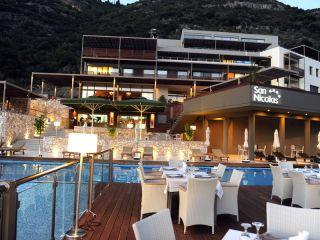 Urlaub Mikros Gialos im San Nicolas Resort Hotel