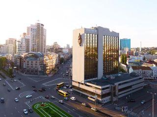 Kiew im Premier Hotel Lybid