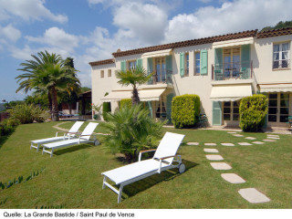 Urlaub Saint-Paul-de-Vence im Hotel La Grande Bastide