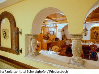 Urlaub Friedersbach im Faulenzerhotel Schweighofer