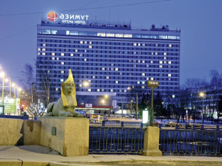 Sankt Petersburg im AZIMUT Hotel Saint Petersburg