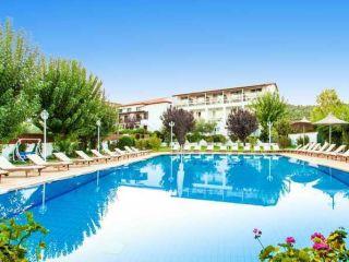 Skiathos-Stadt im Hotel Stellina