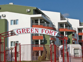 Sonnenstrand im Green Fort