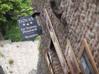 Le Mont-Saint-Michel im Les Terrasses Poulard