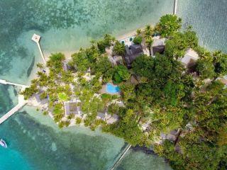 Insel Toberua im Toberua Island Resort