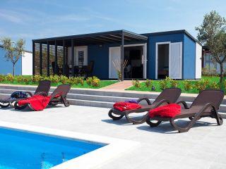 Urlaub Novigrad (Istrien) im Superior Mobile Homes in Camping Kastanija