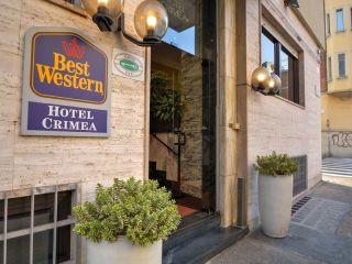 Turin im Best Western Hotel Crimea