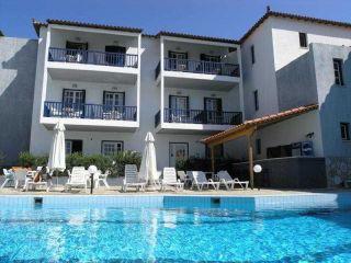 Skopelos-Stadt im Aperitton