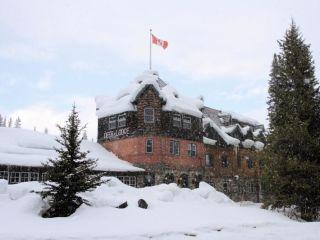 Lake Louise im Deer Lodge