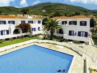 Urlaub Skopelos-Stadt im Sunrise Village Hotel