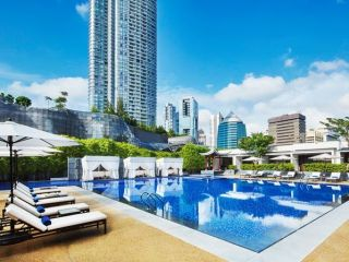 Singapur im Singapore Marriott Tang Plaza Hotel