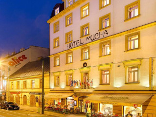Prag im Hotel Mucha