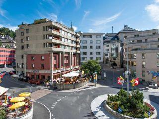St. Moritz im Hotel Hauser