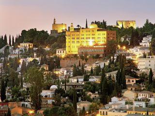 Granada im Alhambra Palace