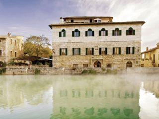 Urlaub Bagno Vignoni im Albergo Le Terme