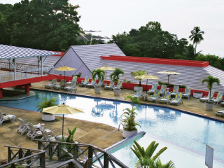 Black Rock im Le Grand Courlan Resort & Spa