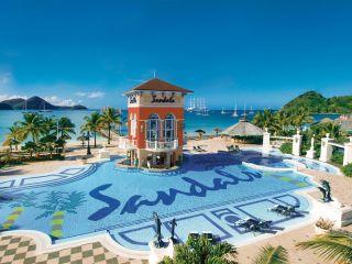 Urlaub Gros Islet im Sandals Grande St. Lucian