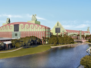 Lake Buena Vista im Walt Disney World Dolphin Hotel