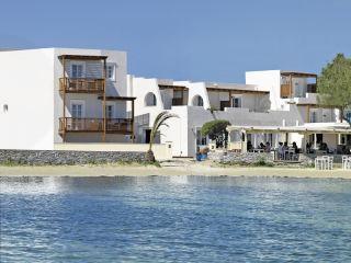 Naxos Stadt im Nissaki Beach