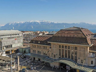 Lausanne im Hotel Continental