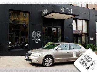 Belgrad im 88 Rooms Hotel