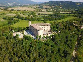 Gubbio im Castello di Baccaresca