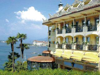 Stresa im Hotel Villa e Palazzo Aminta