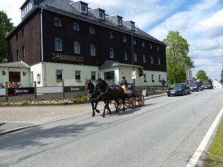 Kurort Oberwiesenthal im Schwarzes Ross