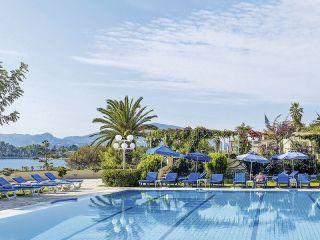 Korfu-Stadt im Hotel Corfu Palace