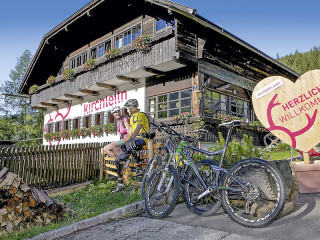 Sankt Oswald  (Bad Kleinkirchheim) im Kirchleitn Dorf Kleinwild