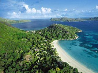 Anse Volbert im Paradise Sun Hotel