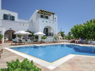 Naxos Stadt im Spiros Hotel