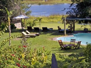 Maun im Thamalakane River Lodge Babbler Chalet & King Fisher Family Chalets