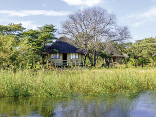 Rundu im Hakusembe River Lodge