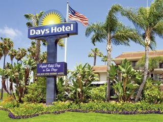 San Diego im Days Inn San Diego Hotel Circle Near SeaWorld