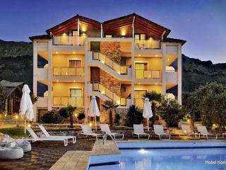 Urlaub Skala Potamias im Korina Hotel