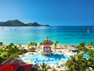 Gros Islet im Sandals Grande St. Lucian